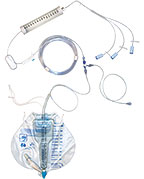 Dialy-Nate® Peritoneal Dialysis Set with Luer Connectors without Warming Coil (used with Baxter® Dialysate Bags). Model 4000537
